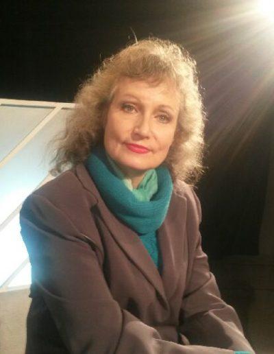 Corinne Corson en studio